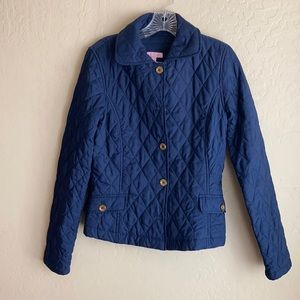 Lilly Pulitzer Quilted Coat Size 4